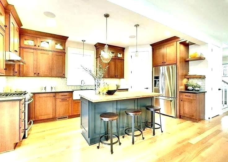 #honeyoakcabinets in 2020 | Honey oak cabinets, Oak ...