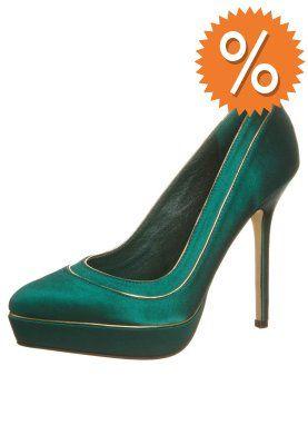 Menbur High Heel Pumps green