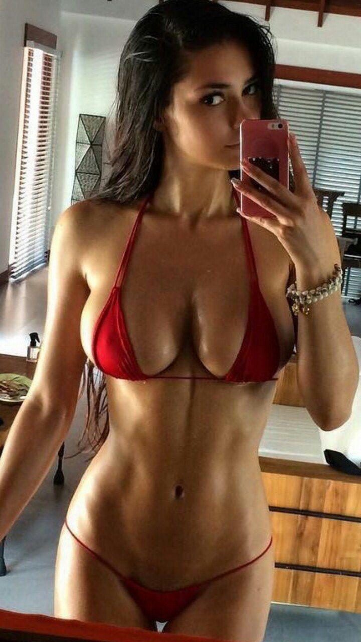 bikini Hot selfie girl