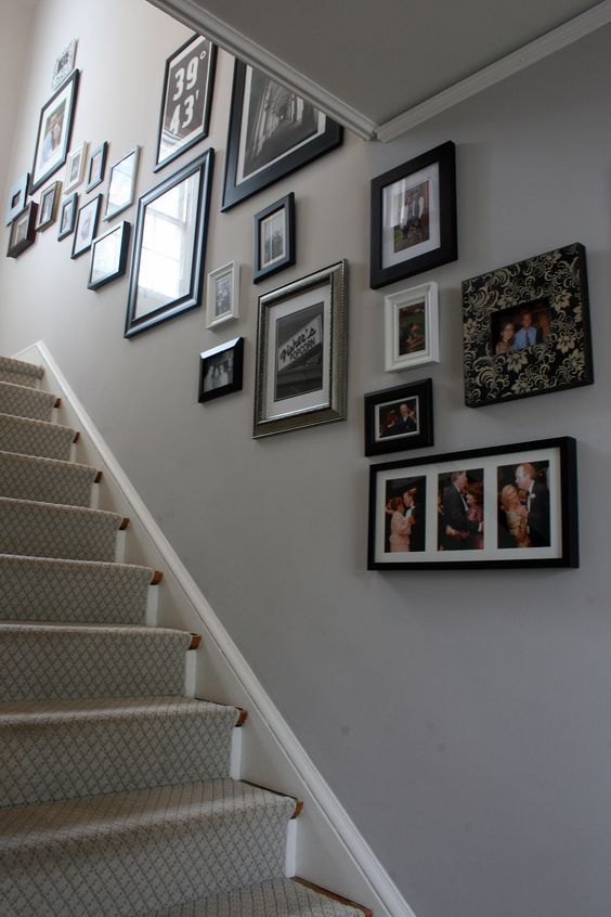 image result for grey paint ideas hallways