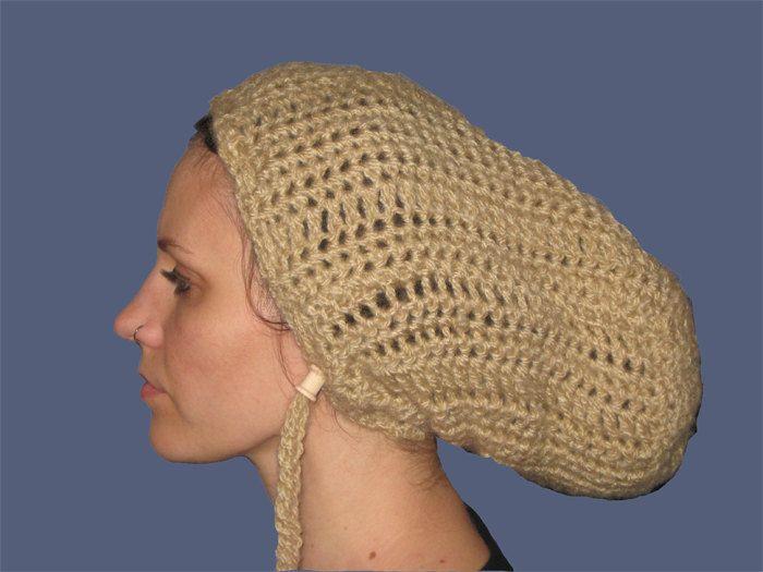 Hat For Dreadlocks In Wheat Color. $28.99, via Etsy.