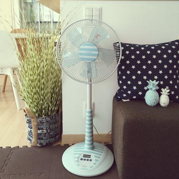 残りの夏もオシャレに 扇風機 エアコンリメイクアイデア集 扇風機 リメイクシート デザイン