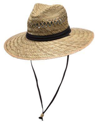 World Wide Sportsman Lifeguard Rush Straw Big Brim Hat for Men - Natural -  XL 666da9b9141
