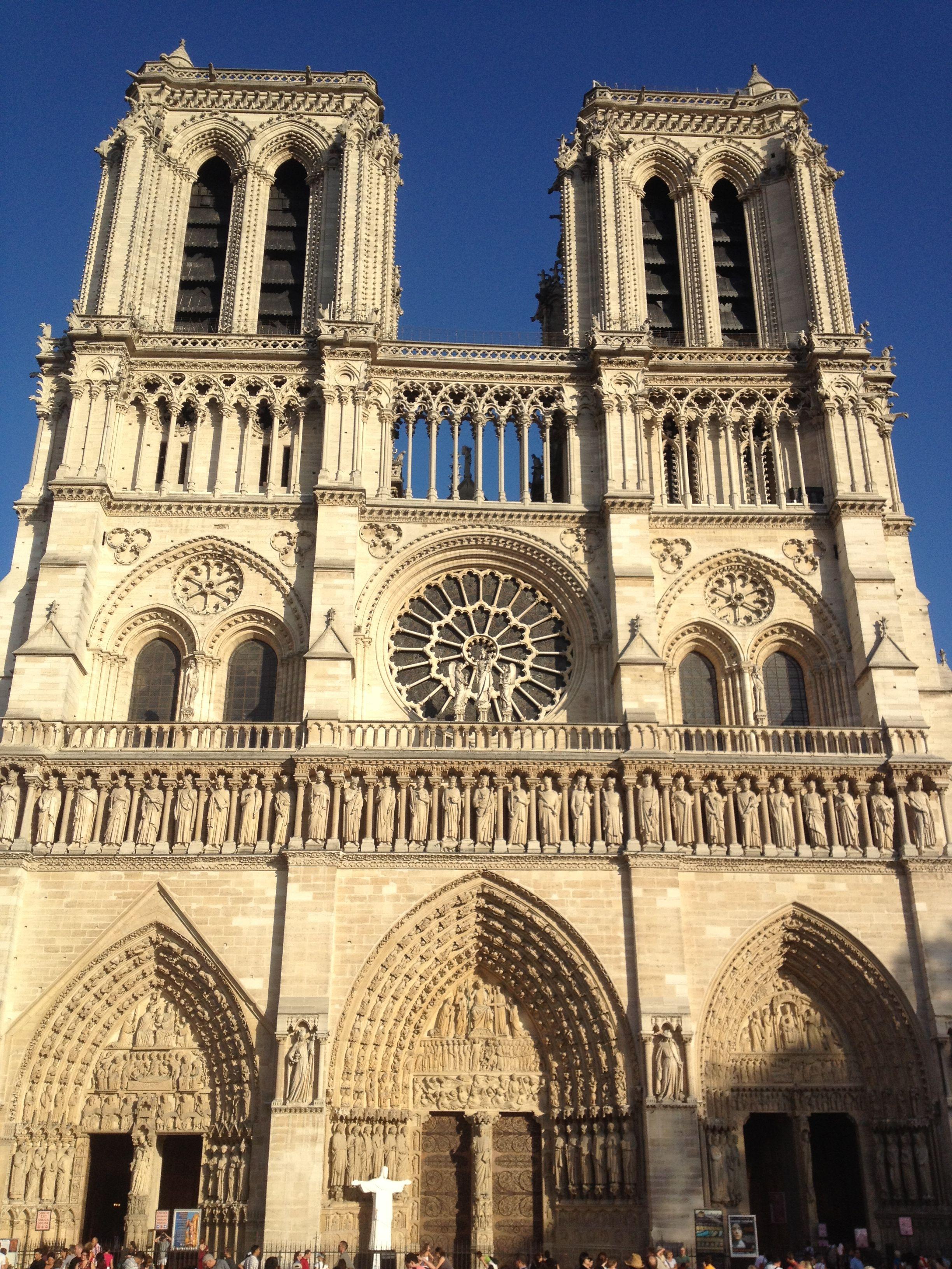 Notre Dame, Paris, France.