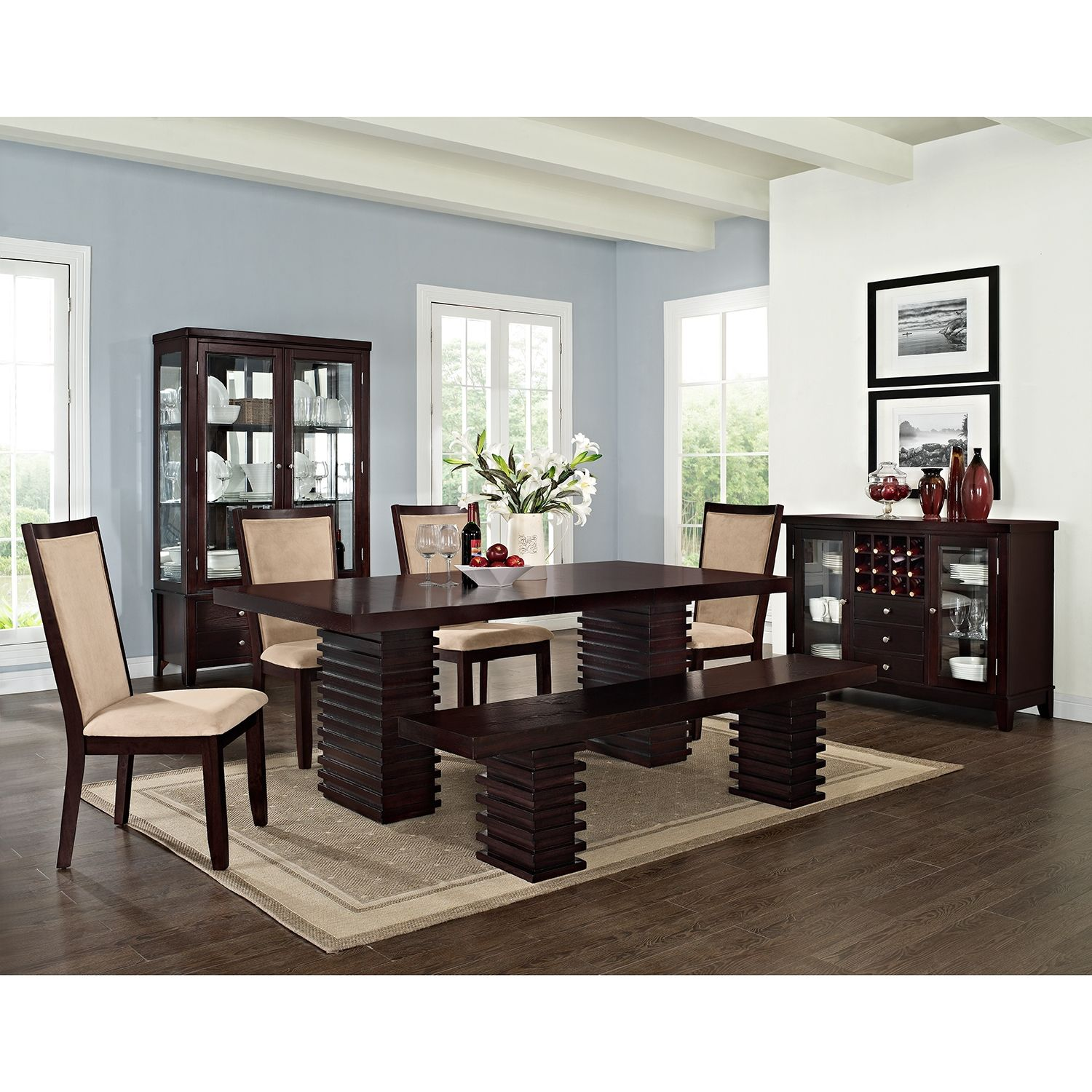 Dining · paragon dining room bench value city furniture