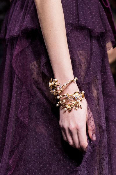 Elie Saab, Fall 2017 - The Most Magnificent Jewelry on the Paris Runway - Photos