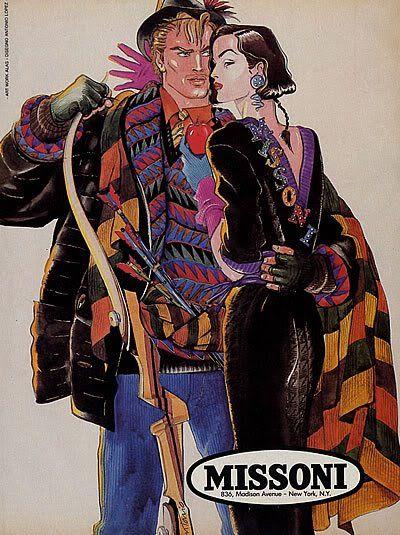 Antonio Lopez Ilustracion De Moda