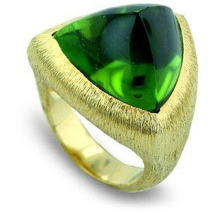 Henry Dunay Ring Beguiling Green Pinterest Ring Peridot and