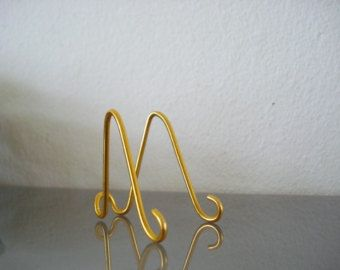 15 Pk Small Gold Mini Easel Holders Business Card Holders Table