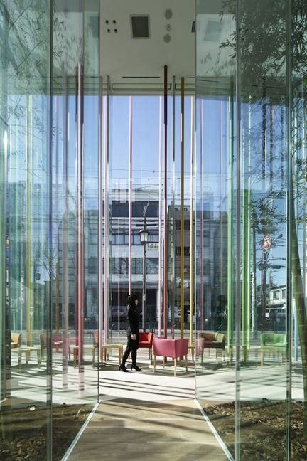 Simplicity Sugamo Shinkin Bank U2013 Ekoda Branch Design By Emmanelle Moureaux  Modern Design Ideas Sugamo Shinkin