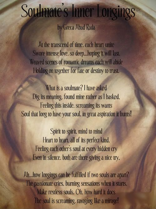 Soulmate Poems Poem Archadestuff Inner Whispers Of Inner