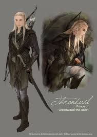 the hobbit elves thranduil fan art - Google Search