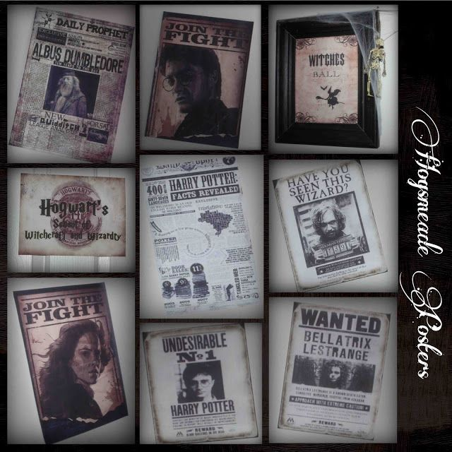 Printable Wanted Posters Delectable Harry Potter Mystery Dinner Party Hogsmeade Printables  Posters .