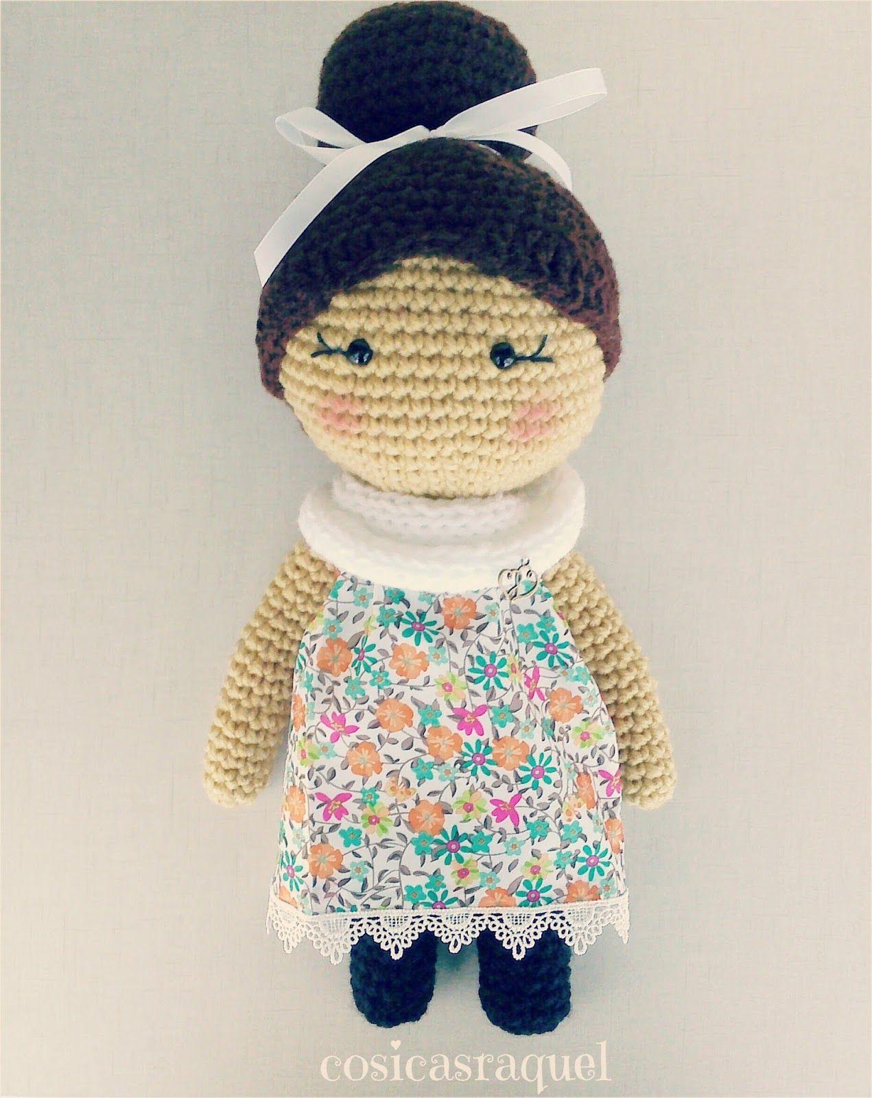 Muñeca de Crochet | crochet dolls free pattern | Pinterest ...