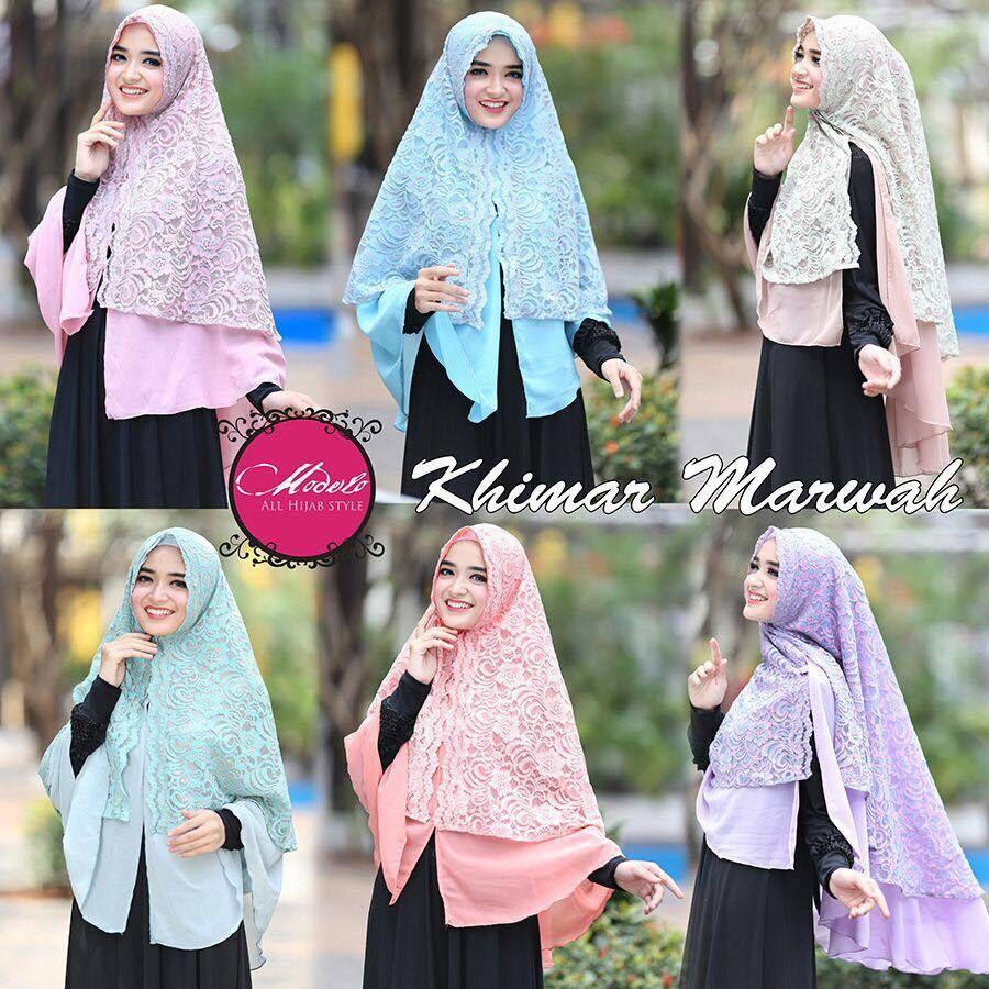 Alisha Khimar Marwah By Modelo 8 Hijab And Jilbab Pinterest