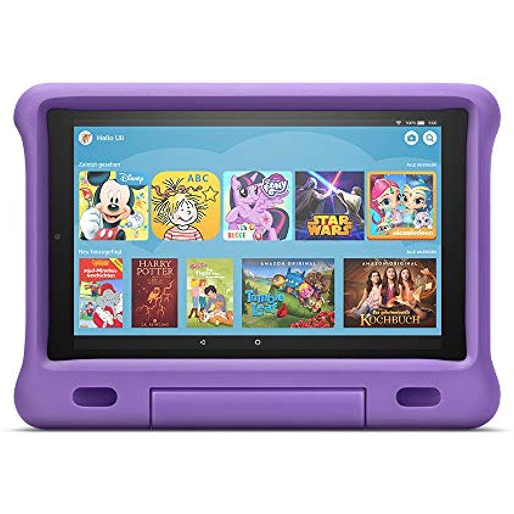 Das Neue Fire Hd 10 Kids Edition Tablet 101 Zoll 1080p Full Hd Display 32 Gb Violette Kindgerechte Hulle Computer Zubeh Tablet Tablet Zubehor Dockingstation