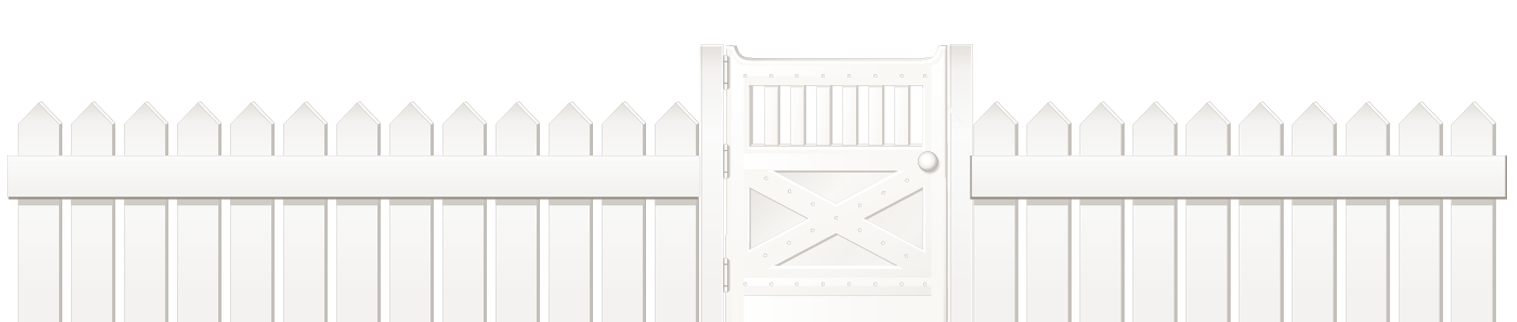 White Fence With Door Png Clipart Picture Modern Design White Fence Fence Clip Art