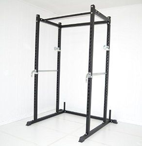 Amazon.com : Atlas Power Rack Squat Deadlift Cage with Bench Racks : Exercise Power Cages : Sports & Outdoors (avec images)