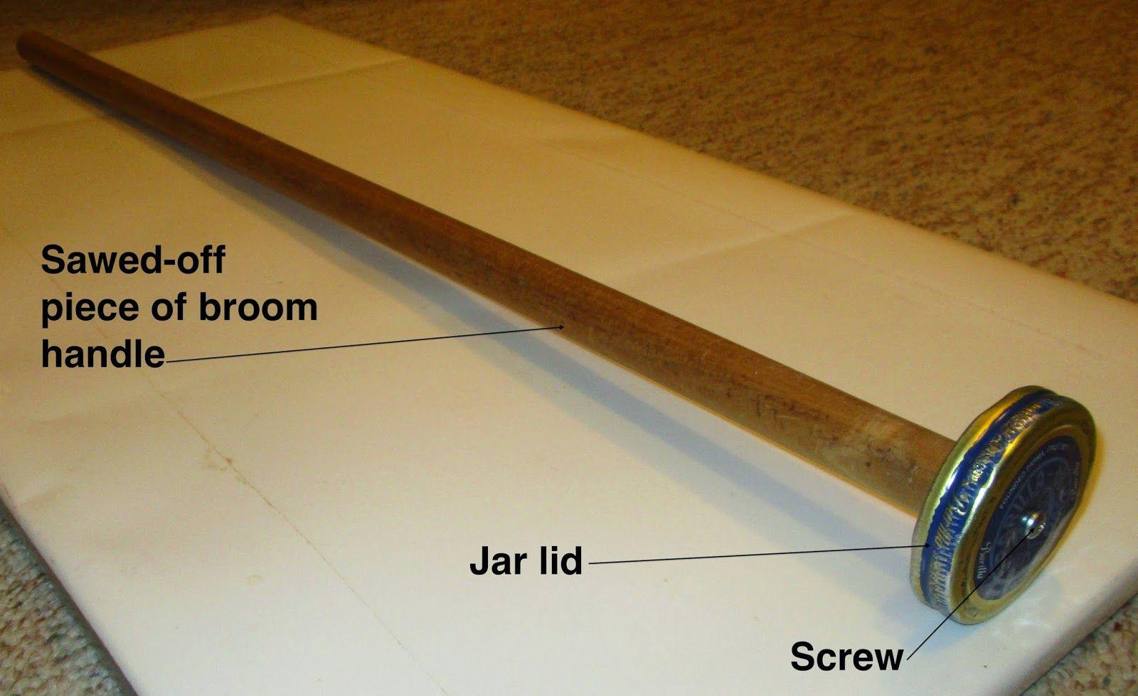 homemade plunger for tubes