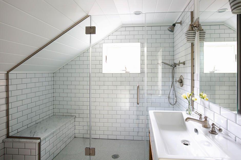Dachschrage Im Kleinen Badezimmer Nutzen Dachbodenausbau