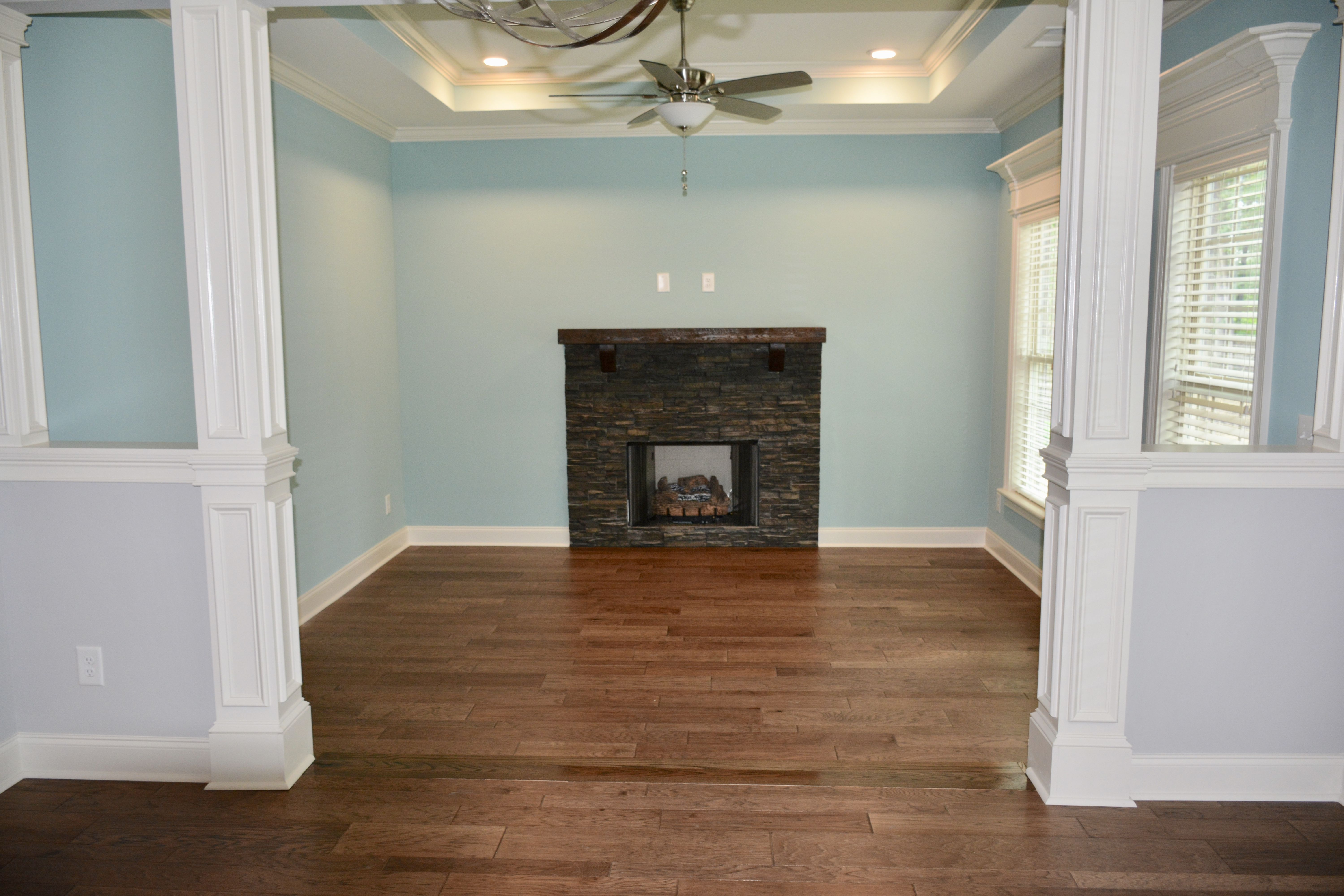Paint is Worn turquoise by Sherwin Williams with French Grey | Worn ...