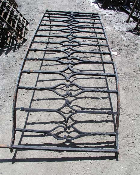Antique wrought iron balcony - find 2 and perfect for ...