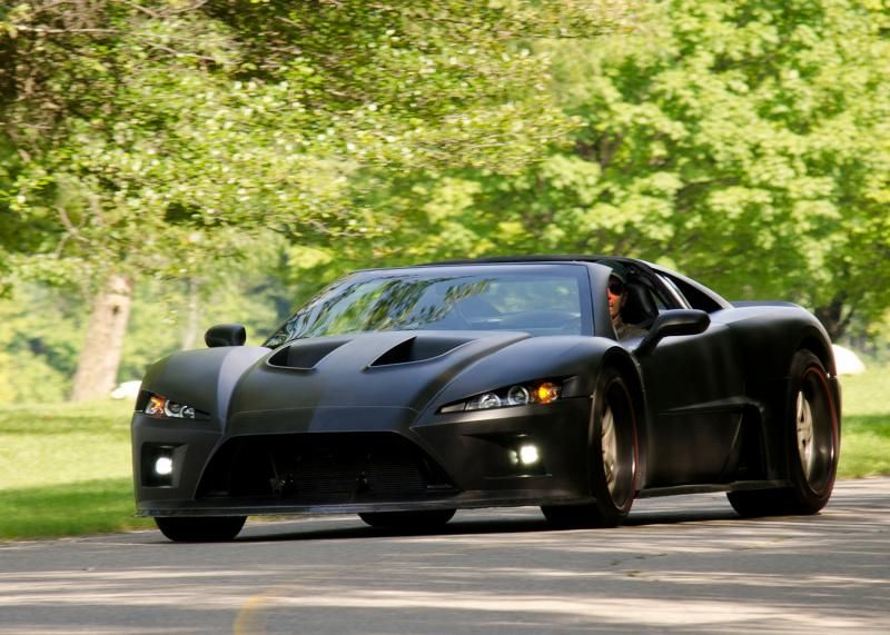 Vehicle · Matte Black Falcon F7