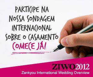 O Zankyou promove, durante este verão, uma sondagem internacional com vista a recolher dados sobre os perfis dos casamentos actuais. Participe e hablite-se a ganhar um iPad2.