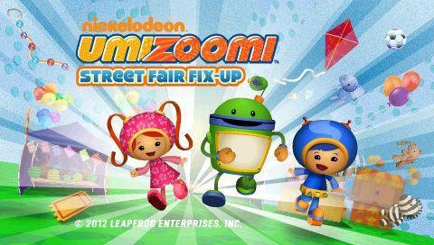 LeapFrog App Center: Team UmiZoomi: Street Fair Fix-Up   the