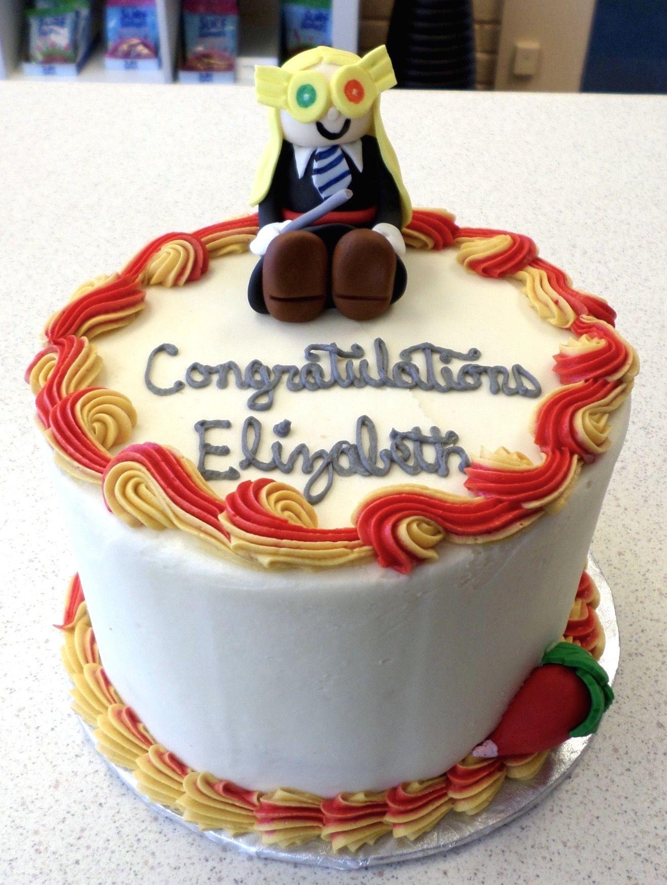 Harry Potter Luna Lovegood Cake Our Cakes Pinterest Luna
