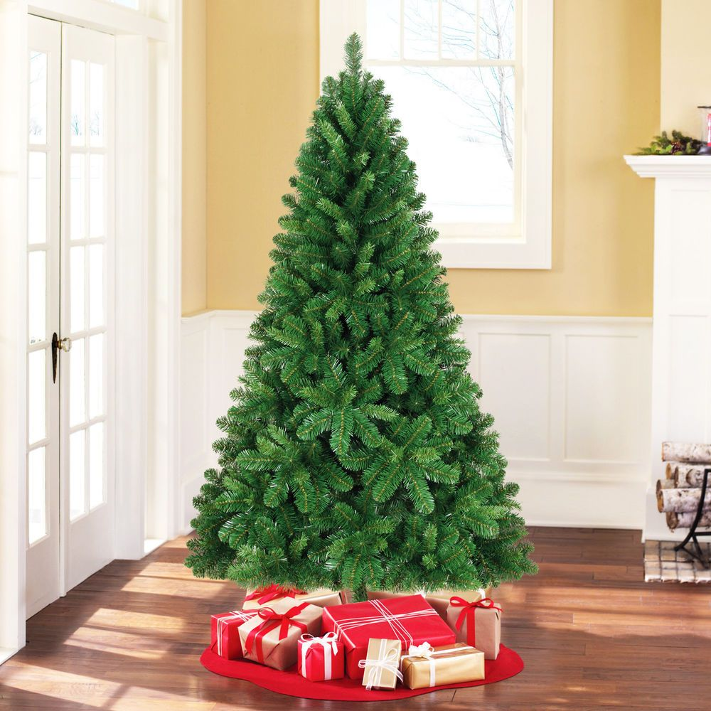 6.5ft FULL LOOK Christmas Tree Xmas New Year Green Artificial Pine ...