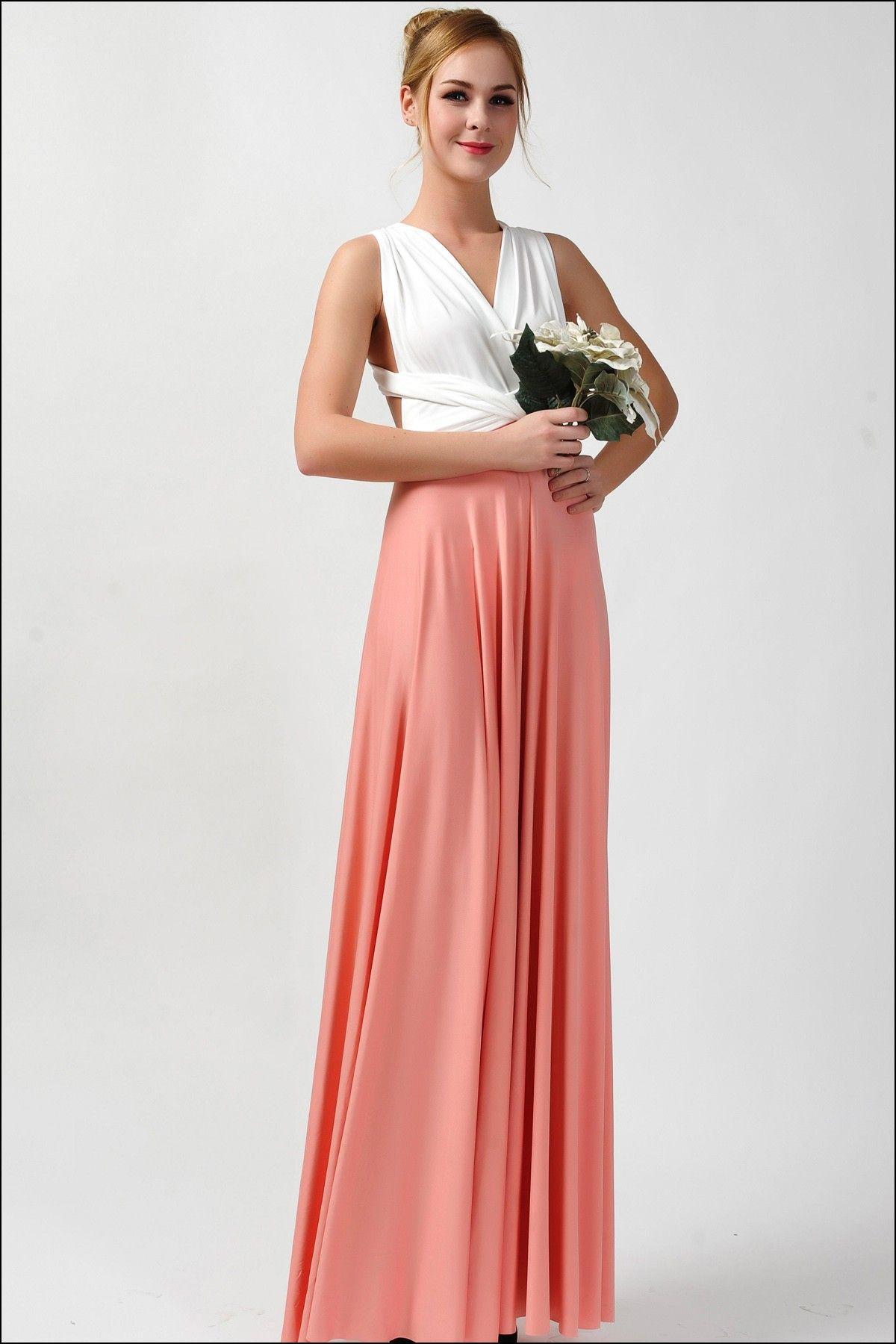 Elegant maxi dresses for weddings  Coral Maxi Dresses Bridesmaid  Dresses and Gowns Ideas  Pinterest