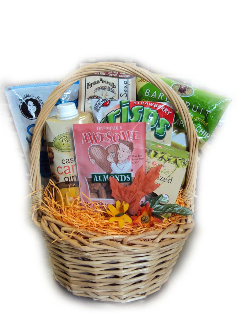 gluten free get well basket | gluten free food gifts | pinterest