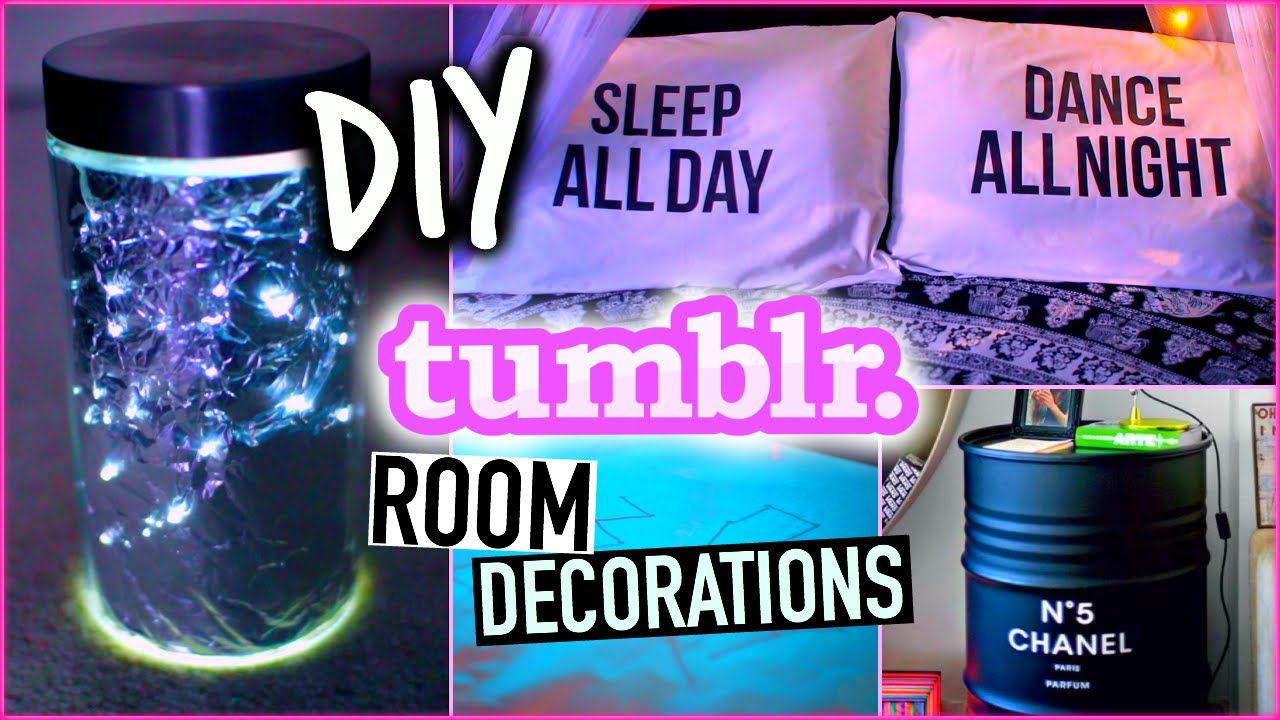 diy room decorations! easy & cheap! tumblr inspired! | diy