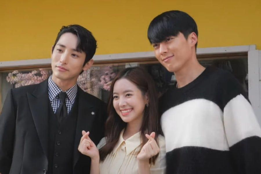 "Watch: Lee Soo Hyuk, Jin Se Yeon, And Jang Ki Yong Wrap Up Filming With Smiles And Share Final Thoughts On ""Born Again"""