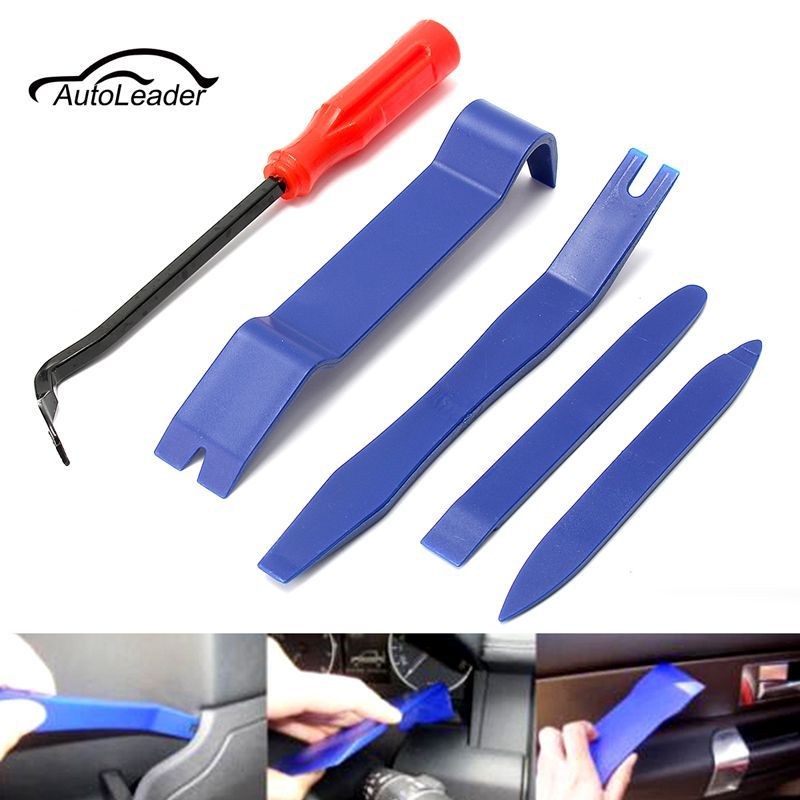universal hard plastic auto trim molding set open removal tools nylon car interior exterior. Black Bedroom Furniture Sets. Home Design Ideas