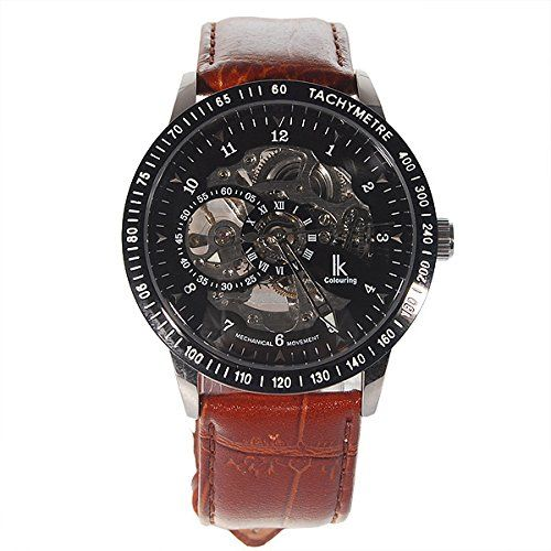 Generic Men's Wrist Watch Leather Band