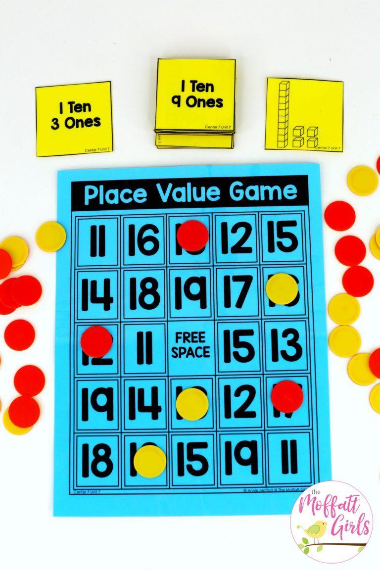 Kindergarten Math: Place Value | Teaching | Pinterest | Math ...