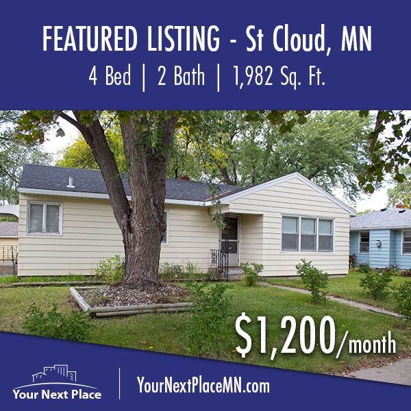 1 Bedroom Apartments Minneapolis: 1419 9th Avenue South In St. Cloud