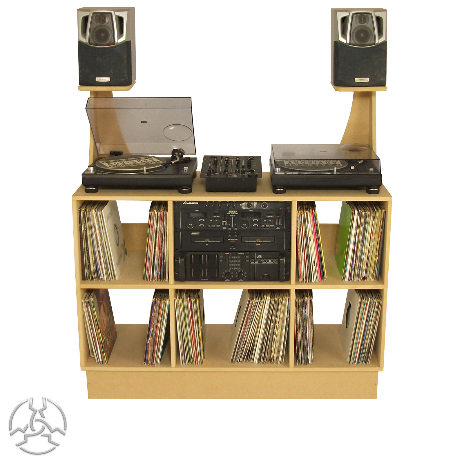DJ Deck Stand DS1000 Special fer Add Speaker Stands for only