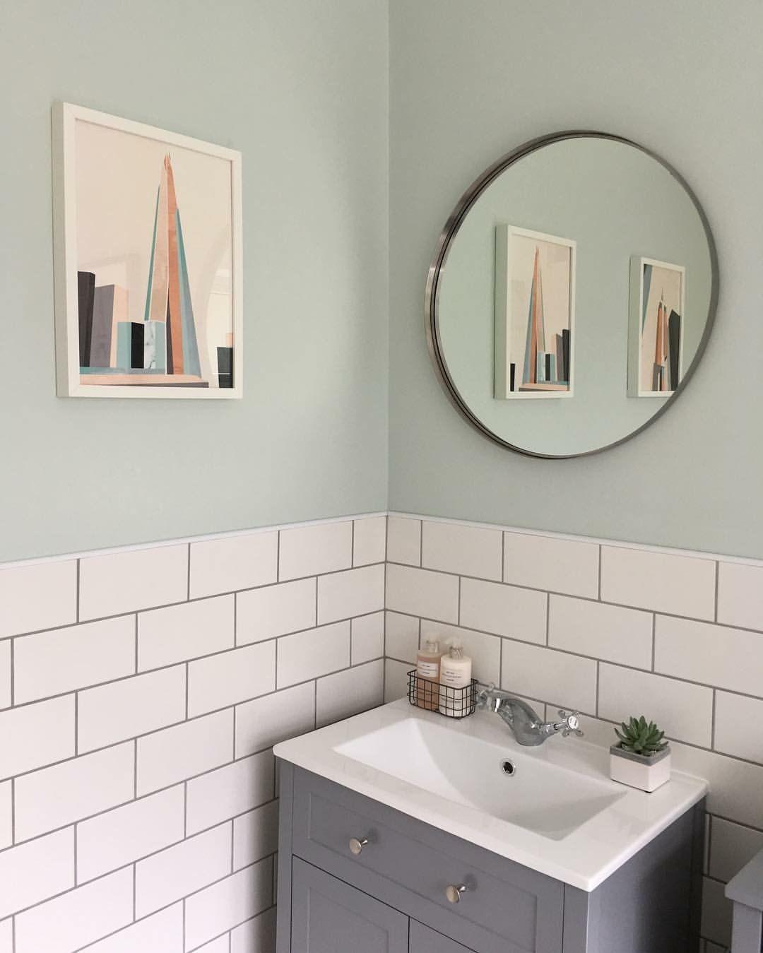 White Metro Tiles With Grey Grout White Bathroom Tiles Grey