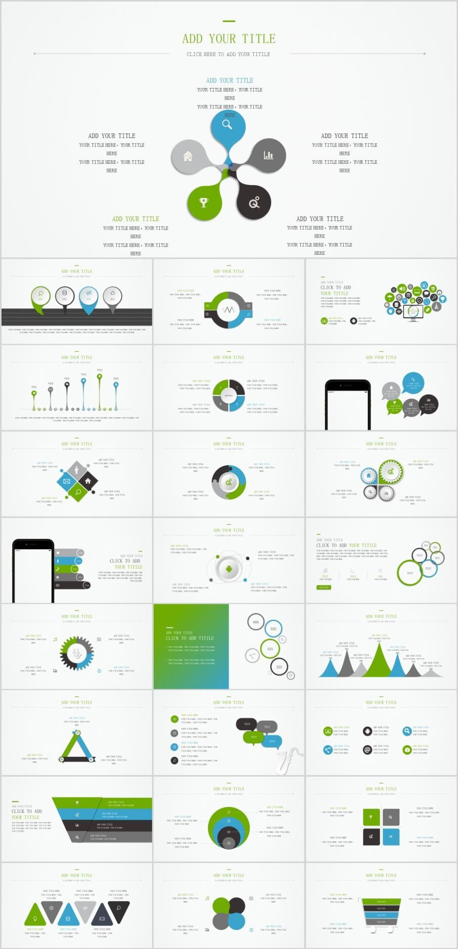 Best charts PowerPoint template Infographic powerpoint
