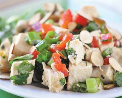Chicken Salad with Asian Vinaigrette Recipe | The Daily Meal