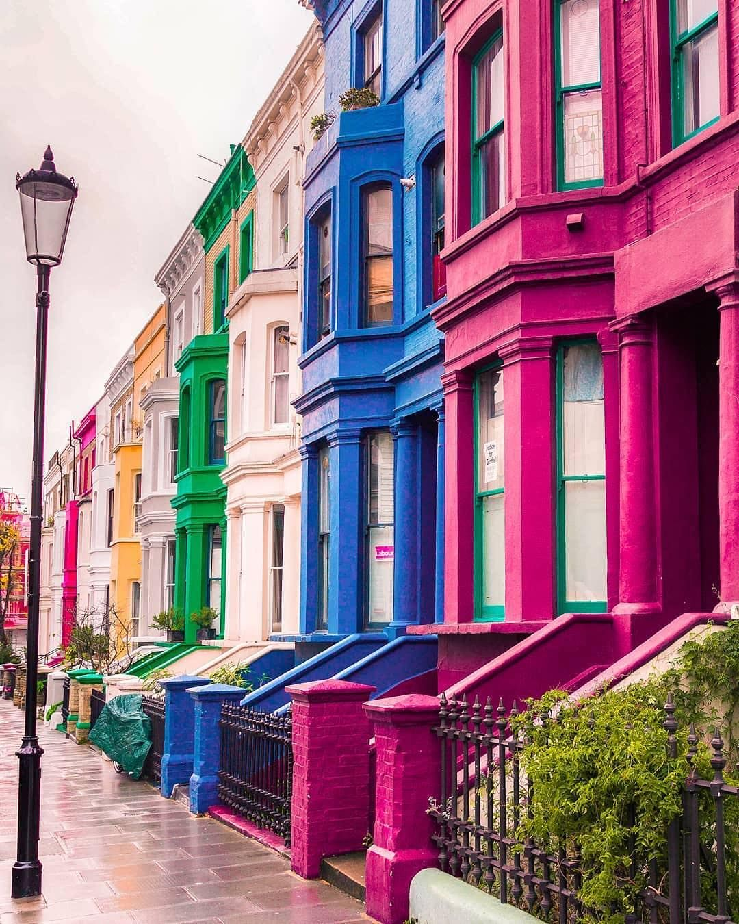 """Notting Hill London: Photos Of Britain 🇬🇧 On Instagram: """"Which Colour Notting"""
