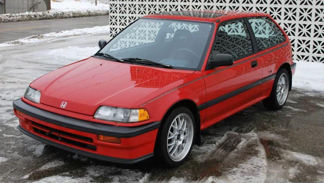 1989 Si Honda Civic Hatchback Honda Civic Si Honda Civic