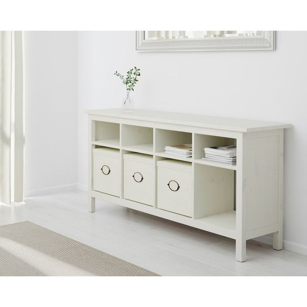 Ikea Hemnes Sofa Table White Stain 199 Liked On Polyvore