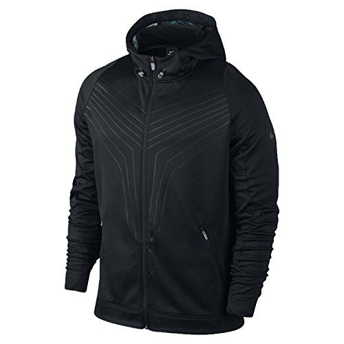 NIKE Kobe Mambula Hyper Elite Full-Zip Basketball Hoodie Black. #nike #cloth