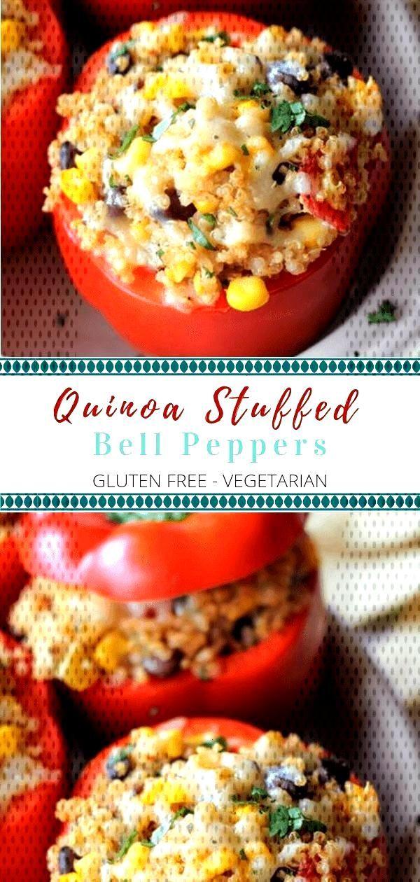 Quinoa Stuffed Peppers - Vegetarian amp Gluten Free - Quinoa Stuffed Peppers – Vegetarian amp Gluten