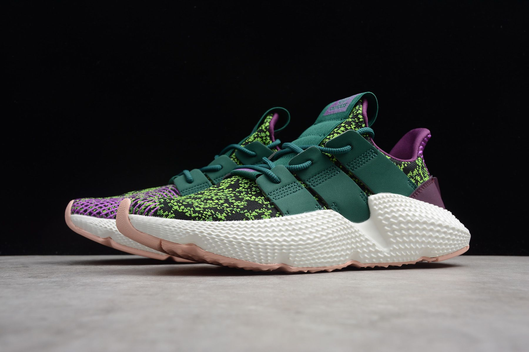 "half off f182f 264d6 2018 Dragon Ball Z x adidas Originals Prophere ""Cell"" D97053 For Sale"