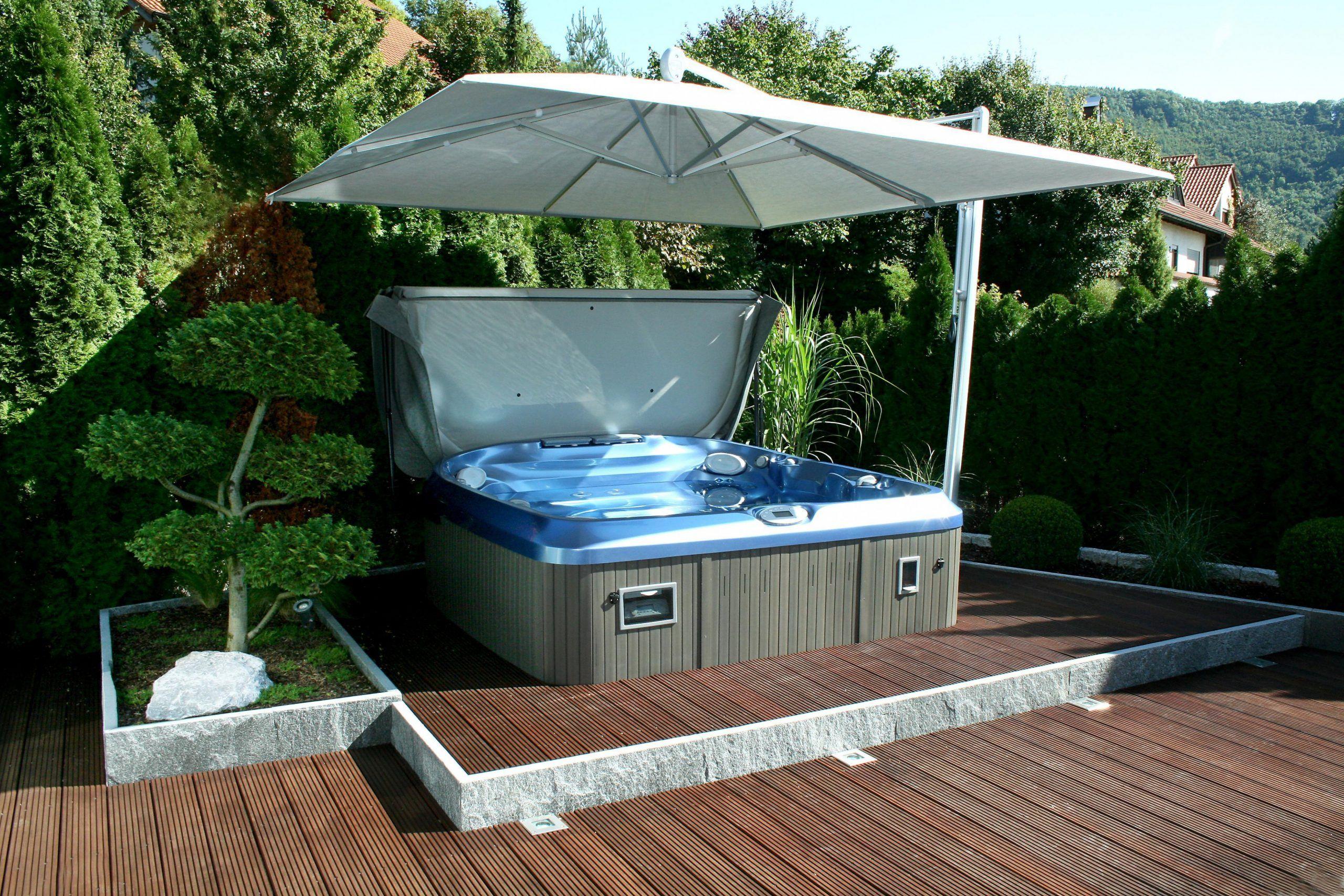 Whirlpool Garten Hot Tub Outdoor Jacuzzi Outdoor Patio Umbrella